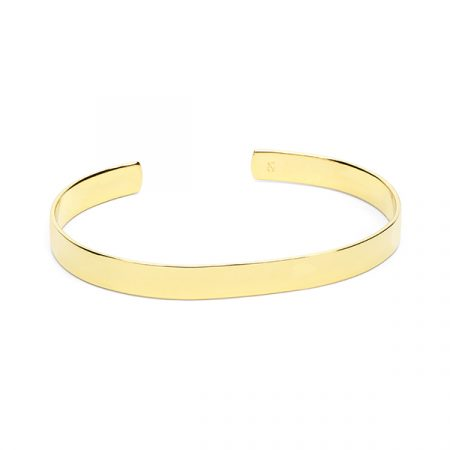 Flat Bangle Small by Maria Pascual