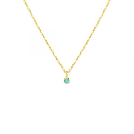 Little Drop Necklace Blue by Maria Pascual