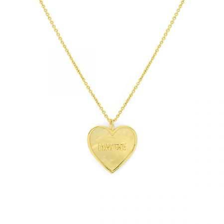 Maybe Heart Necklace by Maria Pascual