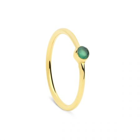 Mini Ring Green by Maria Pascual