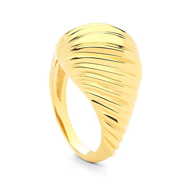 Multi Twist Ring by Maria Pascual