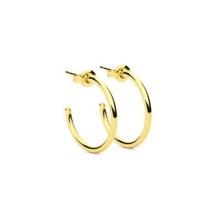 Round Earrings M by Maria Pascual