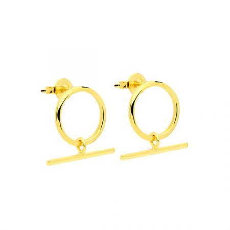 Circle Earrings by Maria Pascual