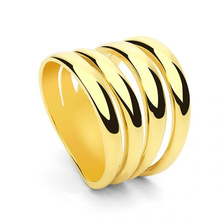 Four Round Ring by Collage Vintage & Maria Pascual