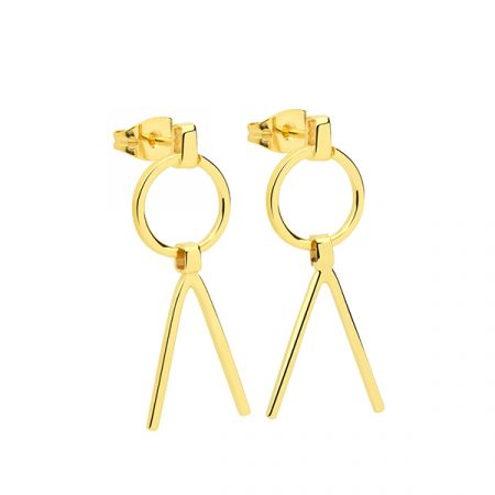 Geometric Earrings by Maria Pascual