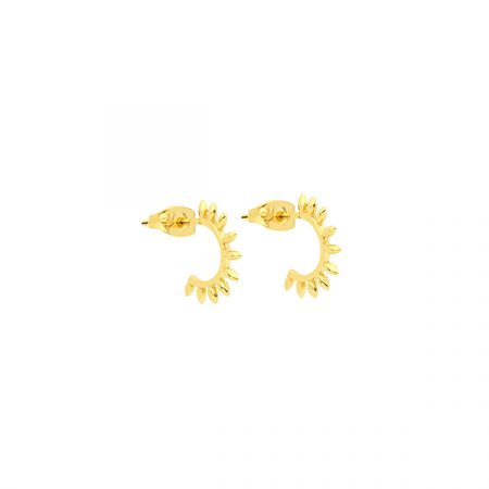 Spike Earrings by Maria Pascual