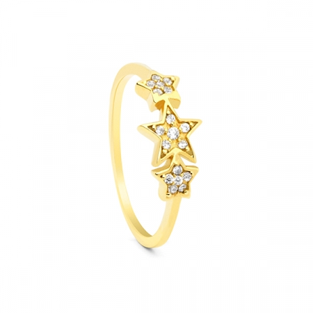 3 Star Ring by Maria Pascual