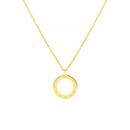 Moon Phases Necklace by Maria Pascual