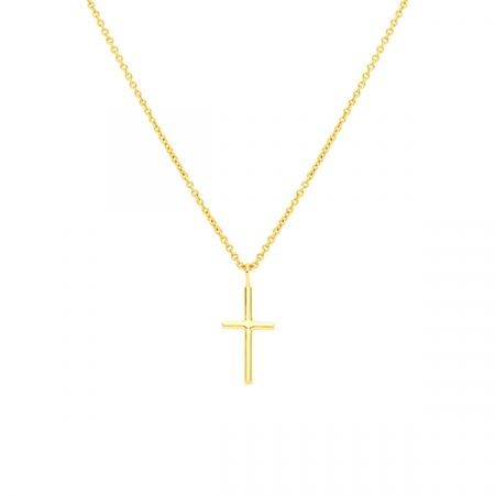 Small Cross Necklace by Maria Pascual