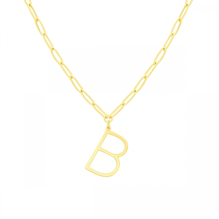 B Necklace by Maria Pascual