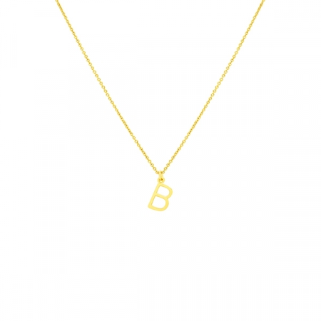 B Necklace Small by Maria Pascual
