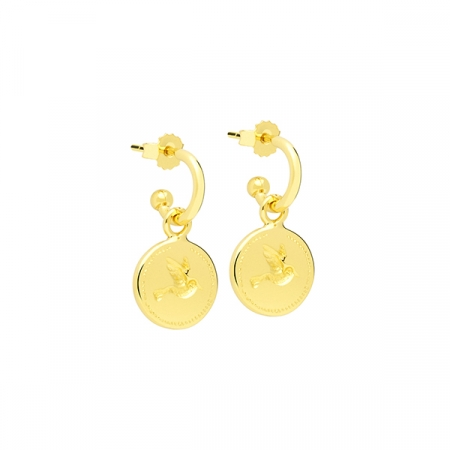 Colibri Earrings by Maria Pascual