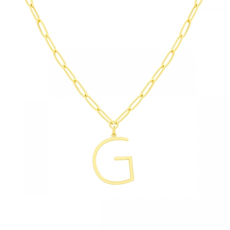 G Necklace by Maria Pascual