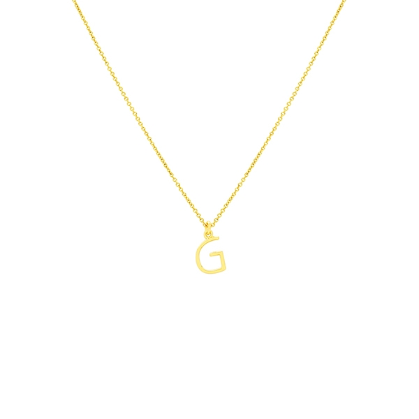 G Necklace Small by Maria Pascual
