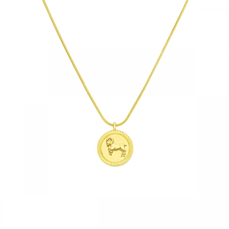 Horoscope Aries Necklace by Maria Pascual