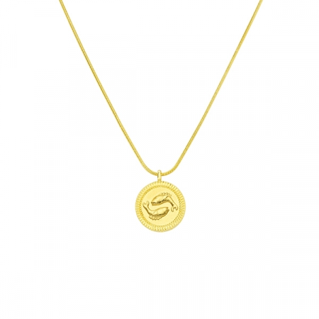 Horoscope Pisces Necklace by Maria Pascual