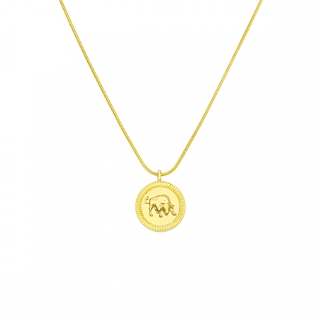 Horoscope Taurus Necklace by Maria Pascual