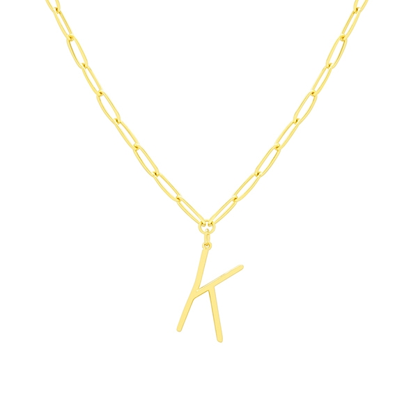 K Necklace by Maria Pascual