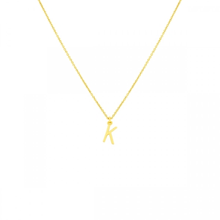 K Necklace Small by Maria Pascual