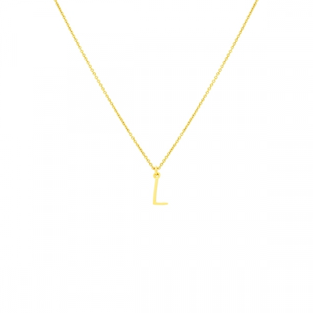 L Necklace Small by Maria Pascual