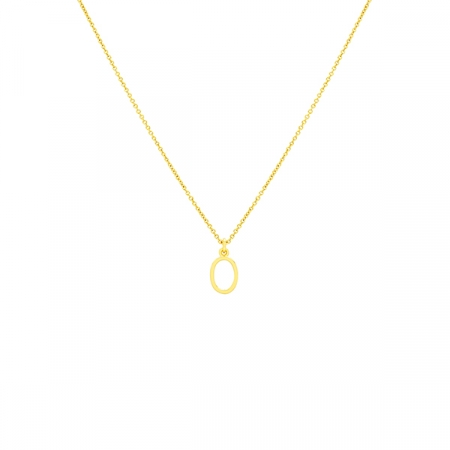 O Necklace Small by Maria Pascual