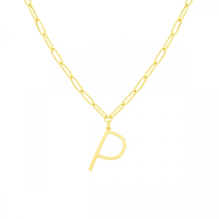 P Necklace by Maria Pascual