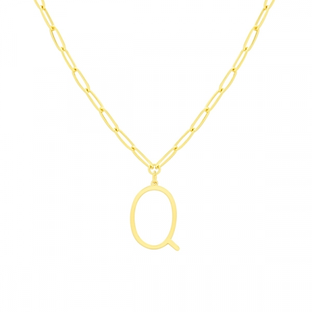 Q Necklace by Maria Pascual