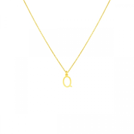 Q Necklace Small by Maria Pascual
