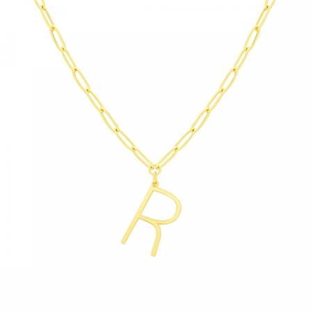 R Necklace by Maria Pascual