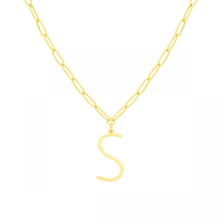 S Necklace by Maria Pascual