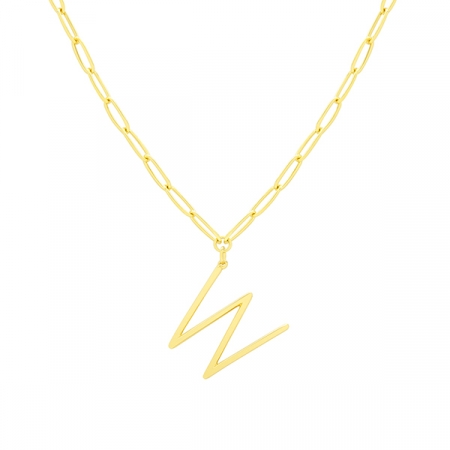 W Necklace by Maria Pascual