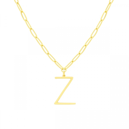 Z Necklace by Maria Pascual