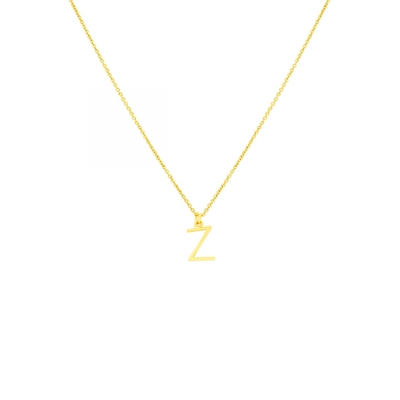 Z Necklace Small by Maria Pascual