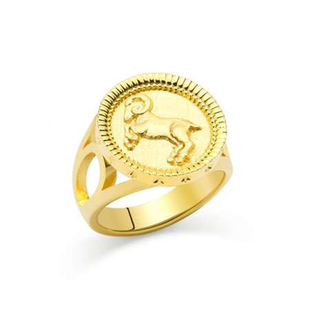 Aries Ring by Maria Pascual