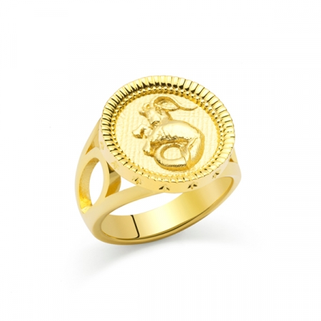 Capricorn Ring by Maria Pascual