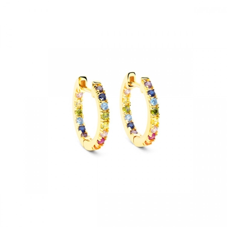 Rainbow Earrings Small by Maria Pascual