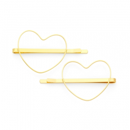 Heart Hair Clips by Maria Pascual