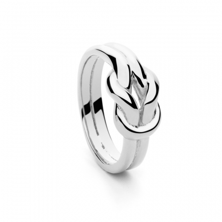 Knot Ring Silver by Maria Pascual