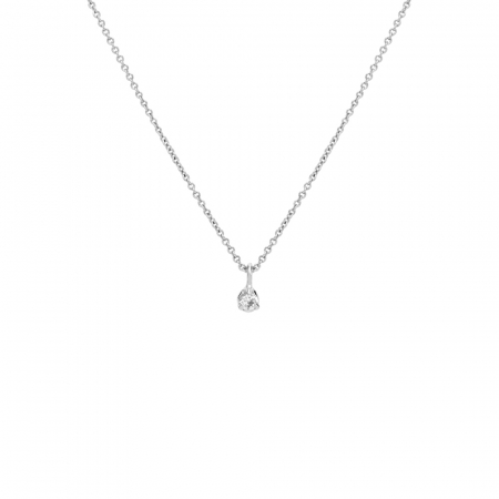 Little Drop Necklace Silver by Maria Pascual