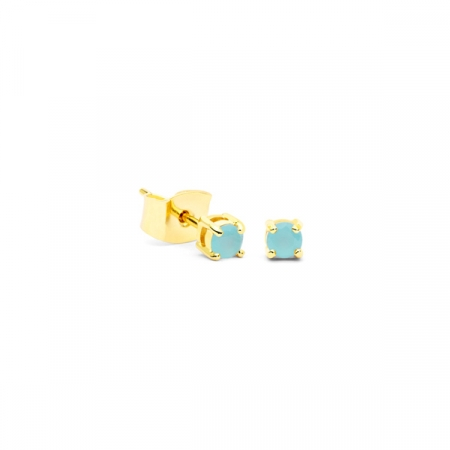 Little Drop Blue Earrings by Maria Pascual