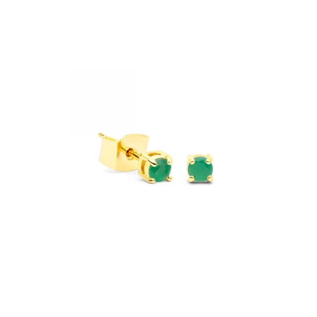 Little Drop Green Earrings by Maria Pascual