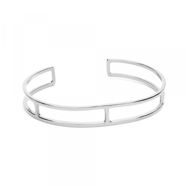 Mini Bangle Silver by Maria Pascual