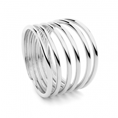 Multi Ring Silver by Maria Pascual